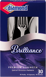 Brilliance Plastic Cutlery