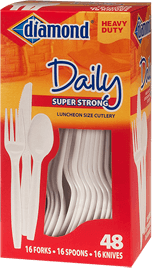 Daily Combo Plastic Cutlery