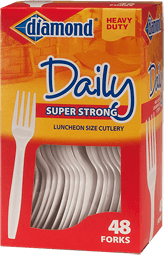 Daily Forks Plastic Cutlery