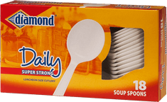 Daily Soup Spoons Plastic Cutlery