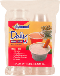 Diamond Mini Cups