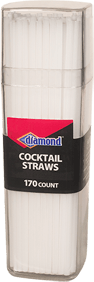 Cocktail Straws White