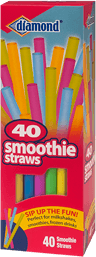 Smoothie Straws Assorted Colors