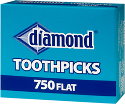 Diamond® Flat Toothpicks