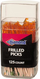 Diamond® Frilled Picks