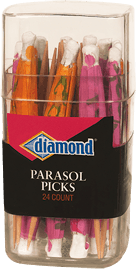 Diamond® Parasol Picks