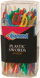 Diamond® Plastic Swords
